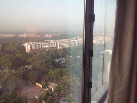 Le Meridien New Delhi: view of rashtrapati bhavan