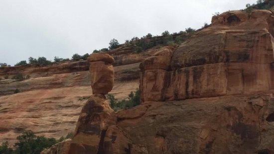 Colorado National Monument : Balanced Rock