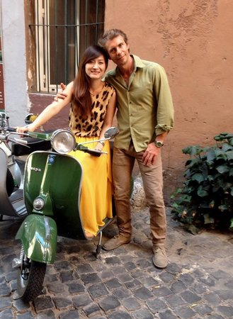 Rome for You - Bike tours - Bike rent - Day Tours: Me and my tour guide Francesco