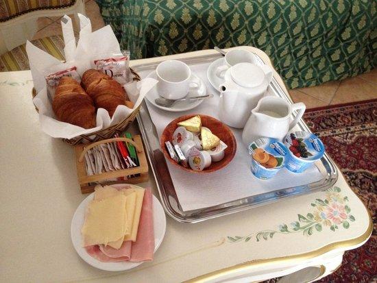 Locanda Novo : El desayuno en la habitación