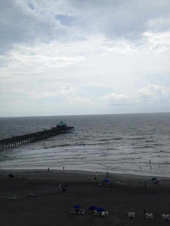 Tides Folly Beach: View from room 908