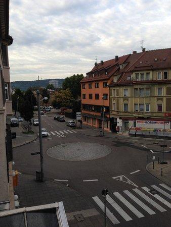 attimo Hotel Stuttgart: view from my window.