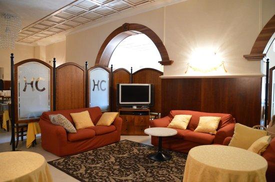 Hotel Campiglione: salotto
