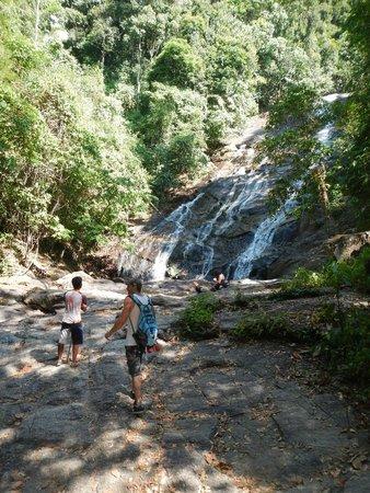 Amazing Bike Tours : The waterfall, absolutely beautiful!