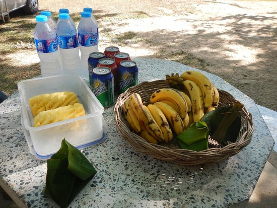 Amazing Bike Tours : Snacks & Refreshments