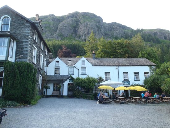 The Old Dungeon Ghyll Hotel: Seriously lovely setting