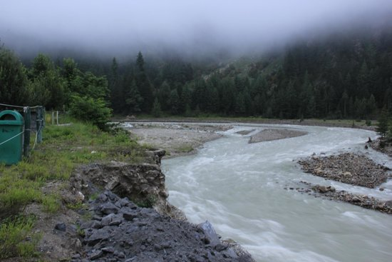 Banjara Camp &  Retreat - Sangla Valley Camp : River View  from Camp