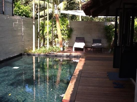 The Slate: pool in spa suite