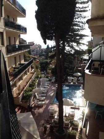 Soleado: Uitzicht vanuit de toegang naar de hotelkamers.