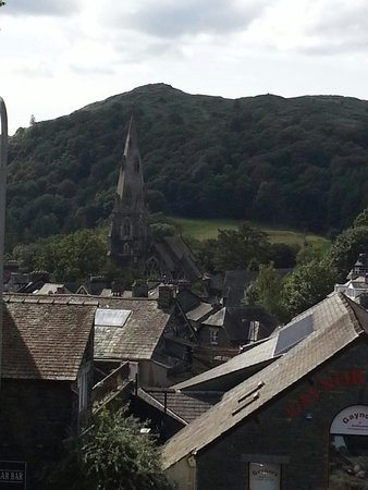 BEST WESTERN Ambleside Salutation Hotel: View from room 101