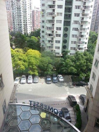 Somerset Xu Hui Shanghai: View from life lobby