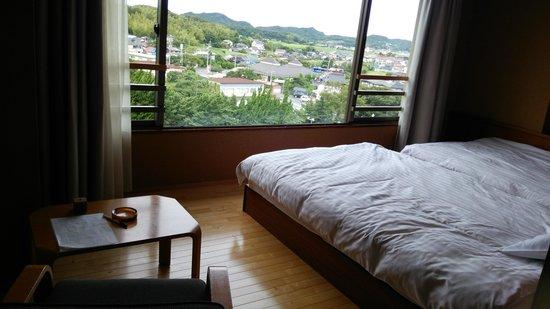 Kawatana Grand Hotel: 和洋室の用の洋室部分