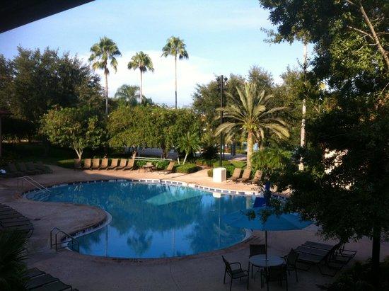 Disney's Coronado Springs Resort: La piscine vue de la chambre