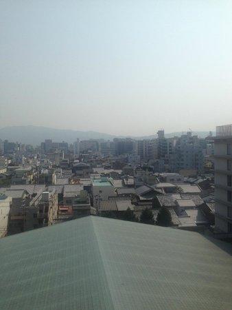 ANA Crowne Plaza Kyoto: 部屋からの眺め
