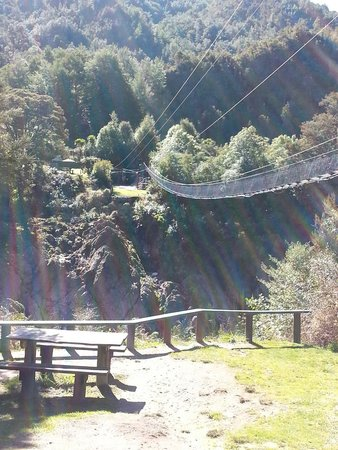 Buller Gorge Swingbridge Ltd: Swing bridge.
