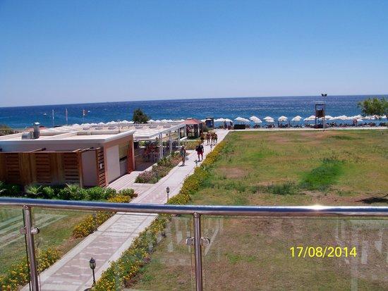 Lindos Imperial Resort & Spa: Accés à la plage