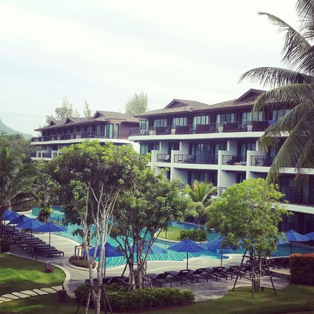 Holiday Inn Resort Krabi Ao Nang Beach: View from restaurant