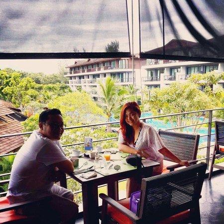 Holiday Inn Resort Krabi Ao Nang Beach: Breakfast with amazing view