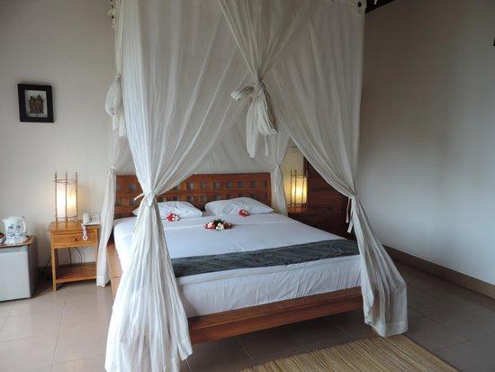 Lembongan Cliff Villas: The room.