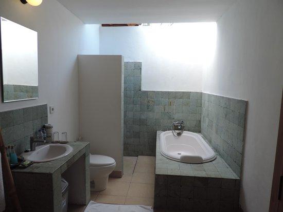 Lembongan Cliff Villas: Bathroom.
