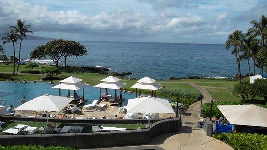 Wailea Beach Marriott Resort & Spa: Piscina suspensa com vista  mar