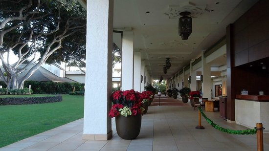 Wailea Beach Marriott Resort & Spa: Entrada do Resort