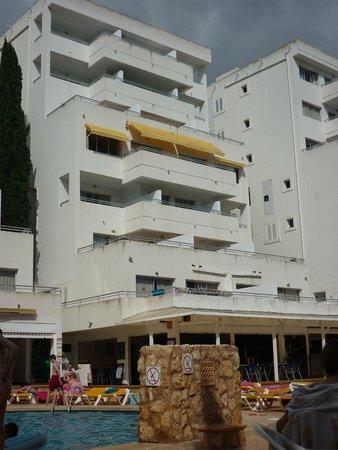 Reception Block Picture Of Vista Club Apartments Santa Ponsa