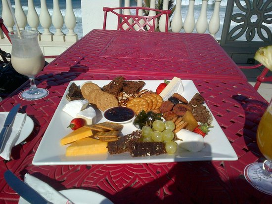 The Oyster Box: Cheese Platter