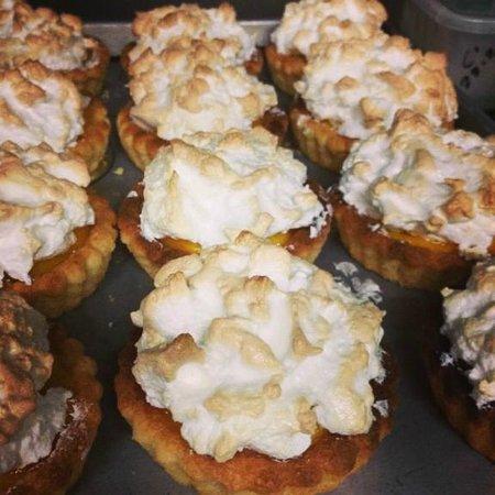 Sunny's at Moffat: house made lemon meringue pies