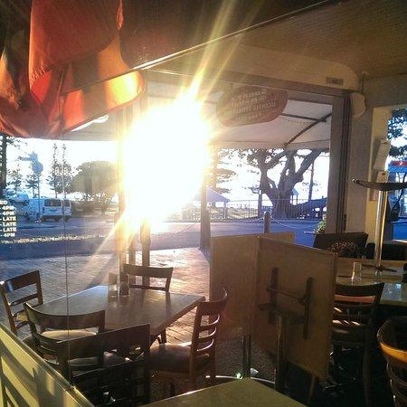 Sunny's at Moffat: reflections