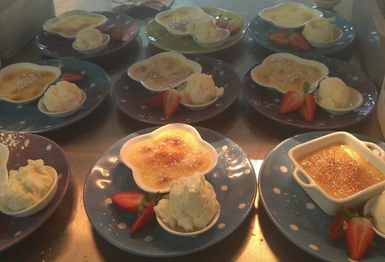 Sunny's at Moffat: a whole lot of brulee