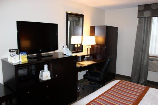 BEST WESTERN Eden Prairie Inn : King Room.