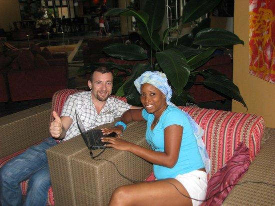 Meliá Santiago de Cuba: wifi zone
