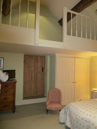 Osmaston, UK: Room with a loft