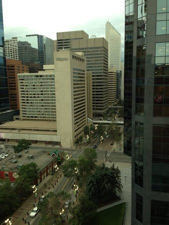 Sheraton Suites Calgary Eau Claire: View from 1405