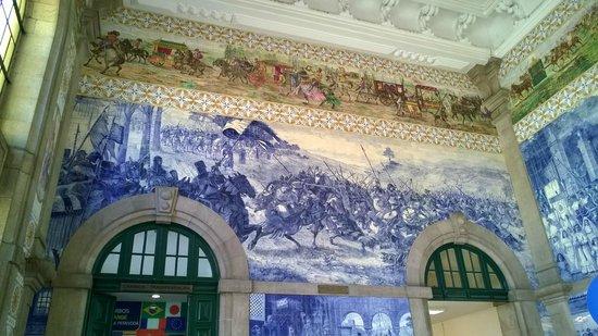 Gare ferroviaire de Sao Bento : alcuni dipinti