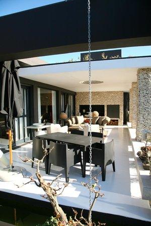 De Kelders Private Villa: sun terrace