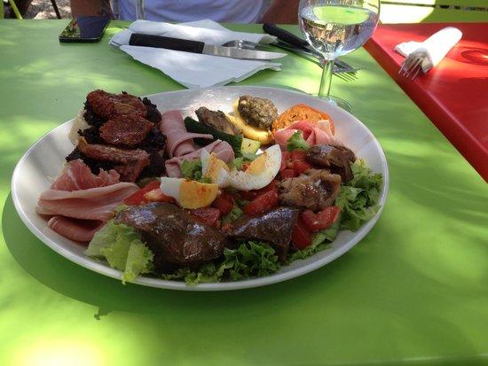 Bar Brasserie Lou Cafetié : Mixed Plate
