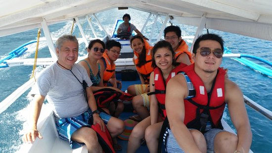 Marco Vincent Dive Resort: Island hopping