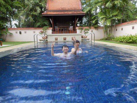 Banyan Tree Phuket: 部屋のプール