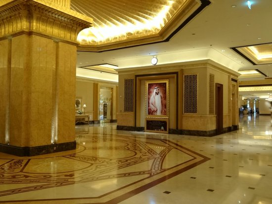 Emirates Palace Hotel: ХОЛЛ-EMIRATES PALACE