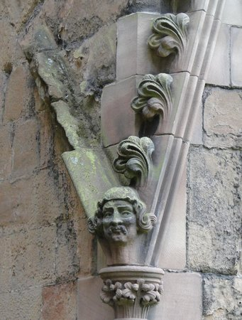 Lichfield Cathedral: Lonely head
