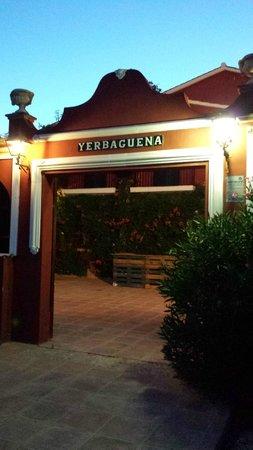 Restaurante Yerbaguena: Entrada