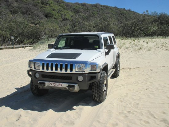 Fraser Experience Tours: our Hummer