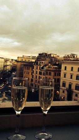 Sina Bernini Bristol: Room with a view :-))