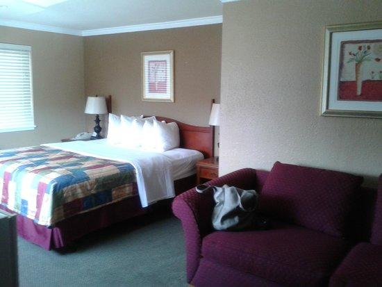 Days Inn Monterey Downtown: la nostra stanza