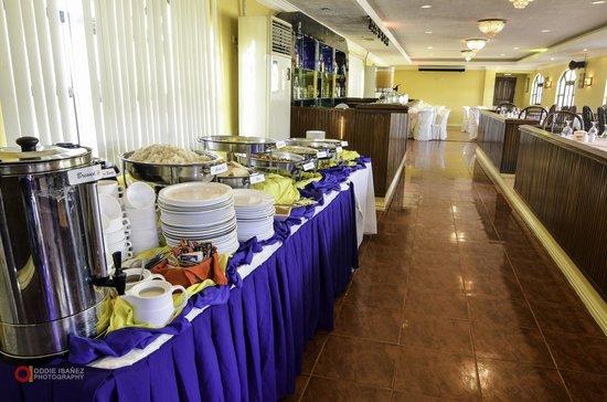 Marco Vincent Dive Resort: Breakfast Buffet