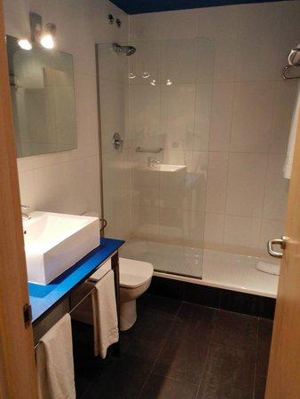 Hotel Ciutat de Barcelona: bagno