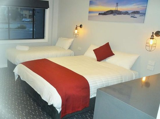 Merewether Motel: Very Comfortable Rooms