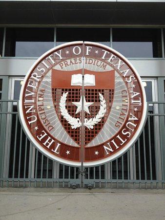 University of Texas at Austin: The huge campus football stadium